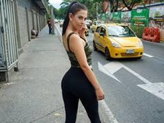 Oiled Up Latina Booty