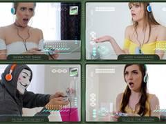 3 Gamer Girls